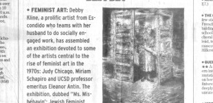 """Best Bet"" in San Diego Union Tribune, Jan 28, 2005"