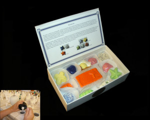 Box of 12 Ceramic Medicinal Candies