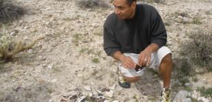 Manny Macias at Salton Sea