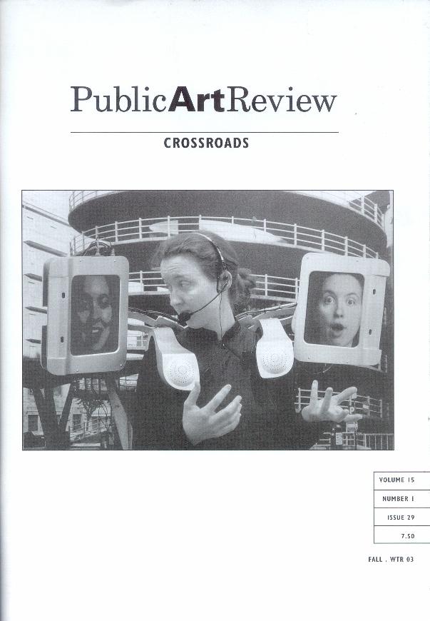 Public Art Review 2002