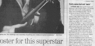 """""""Show & Tell: Forty Acres But Not 'Mule'"""" - San Diego Union Tribune (March 23, 2007)"""