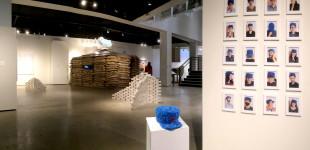 "La Jolla Light, ""Edgy Multimedia Exhibition opens at Art Institute,"" by Lonnie Burstein Hewitt, October 23, 2014"