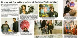 "La Jolla Light, ""It was art for artists' sake at Balboa Park,"" by Lonnie Burstein Hewitt, March 12, 2015."