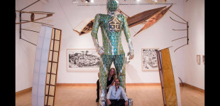 "La Jolla Light, ""Recycled art exhibits shine at California Center for the Arts,"" by Lonnie Burstein Hewitt, May 1, 2017"