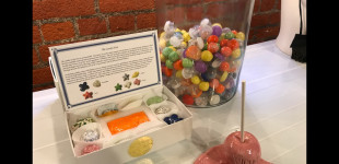 "Art and Cake, ""The Candy Store and Something Extra at Shoebox Projects,"" By Genie Davis, June 24, 2018."