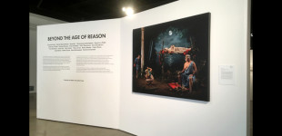 "Art and Cake LA, ""Beyond the Age of Reason at the San Diego Art Institute,"" by Genie Davis, September 13, 2018."